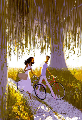 """Along The Way"" by Pascal Campion"