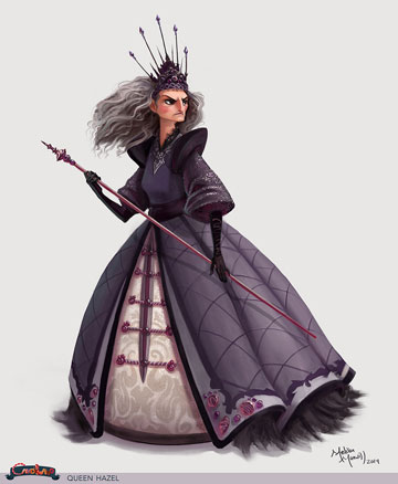 Queen Hazel by Melissa Manwill