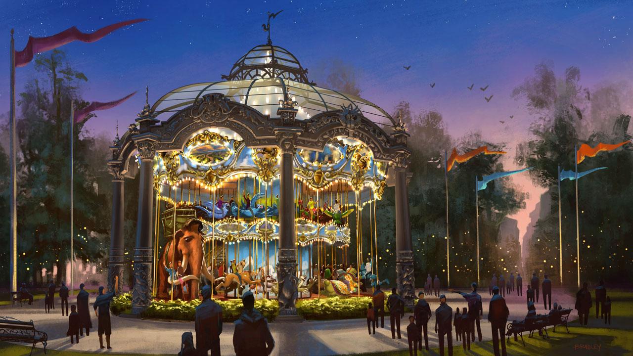 theme parks concept artist chris bradley on building a
