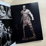Kratos Maquette from 'God Of War' by Rafael Grassetti. Photo by James Ruleson.