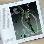 Doc Ock Character Painting from 'Spider-Verse' by Shiyoon Kim, Omar Smith and Wendell Dalit.
