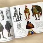 Character Designs from 'Missing Link' by Chris Butler.
