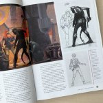 Early Concept Sketches from 'Star Wars' of Han Solo and Chewbacca by Ralph McQuarrie