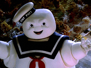 The Stay Puft Marshmallow Man is a physical representation of Ray Stantz's subconscious.