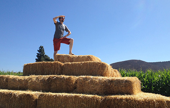 Chris Oatley: Conqueror Of The Corn Maze