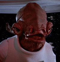 """Return Of The Jedi: Admiral Ackbar yells """"It's A Trap!"""""""