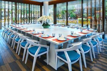 Interior Photography of Days Hotel at Zhongshan Park Singapore 21 On Rajah Restaurant in a meeting setup