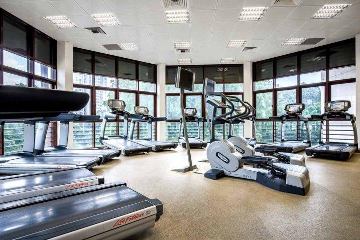 Interior Photography Tanglin Club Singapore Gym Image 1 1080