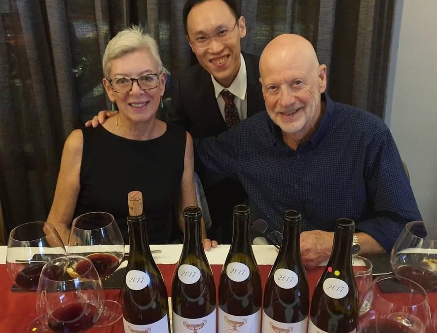 Wine Dinner at Restaurant Markus December 2019