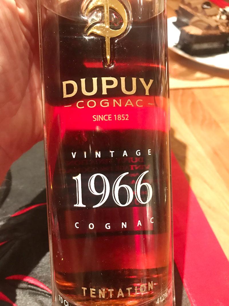 1966 Dupuy Tentation Cognac