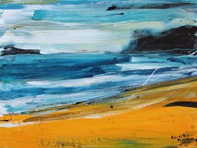 Christine Nicolson - NZ abstract landscape