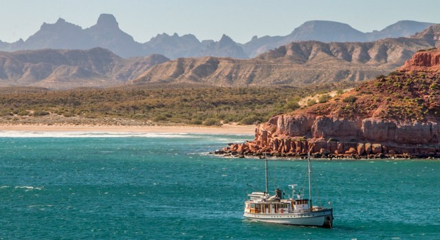 Sea of Cortez boat