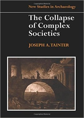 Tainter collapse of complex societies