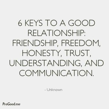 6 keys to relationships