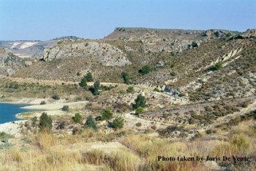 Land degradation Embalse de la Cierva, Spain