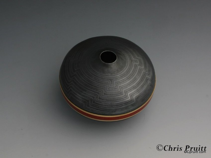 Mokume Seed Pot : Ancient One II