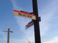 The name of the roads which run through the market is named after one of the founders of the Wallace and McDowell Shipyards, which started in the same spot in 1906.