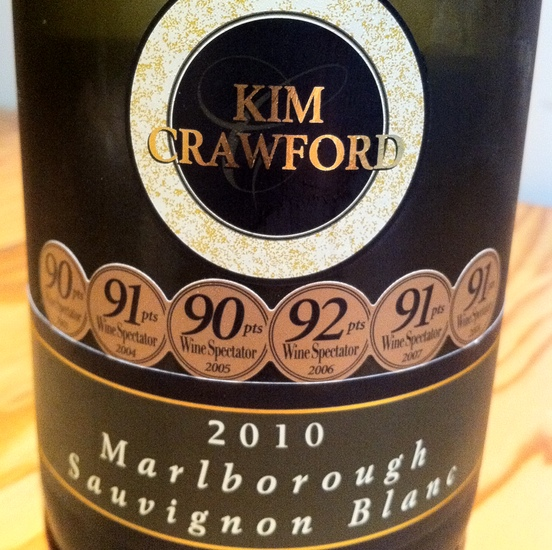 Kim Crawford 2010 Marlborough Sauvignon Blanc