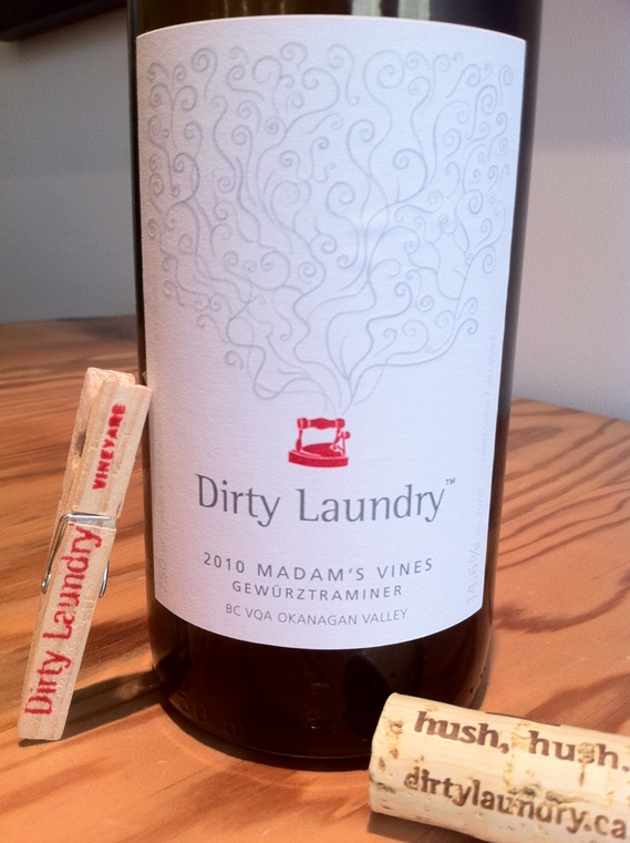 Dirty Laundry 2010 Madam's Vines Gewürztraminer