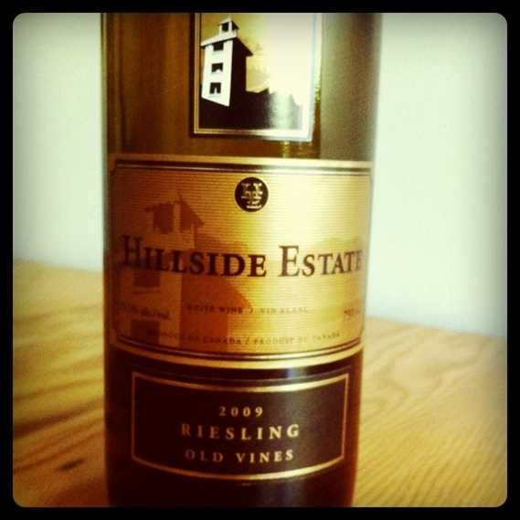 Hillside Estate 2009 Riesling Old Vines