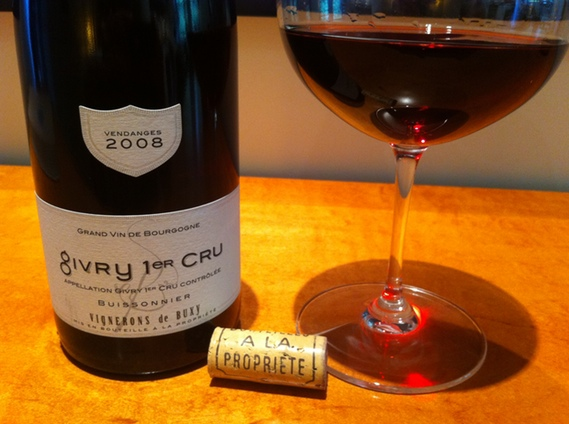 2008 Vignerons de Buxy Givry 1er cru Buissonnier