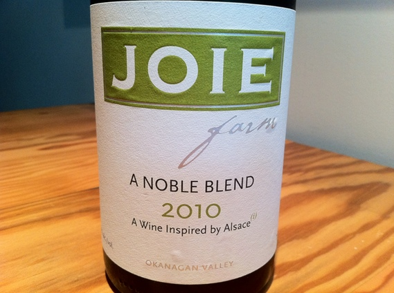 """Joie Farm """"A Noble Blend"""" 2010"""