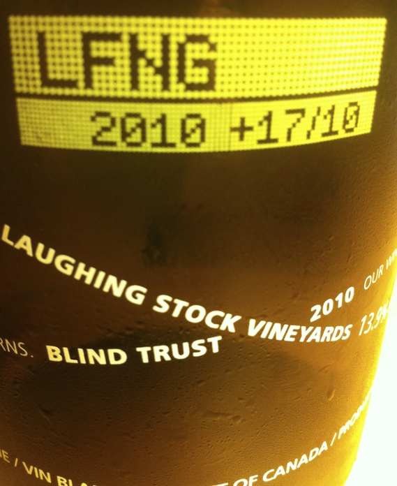 Laughing Stock Vineyards Blind Trust 2010