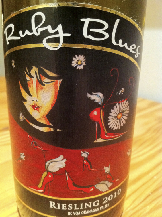 Ruby Blues Riesling 2010