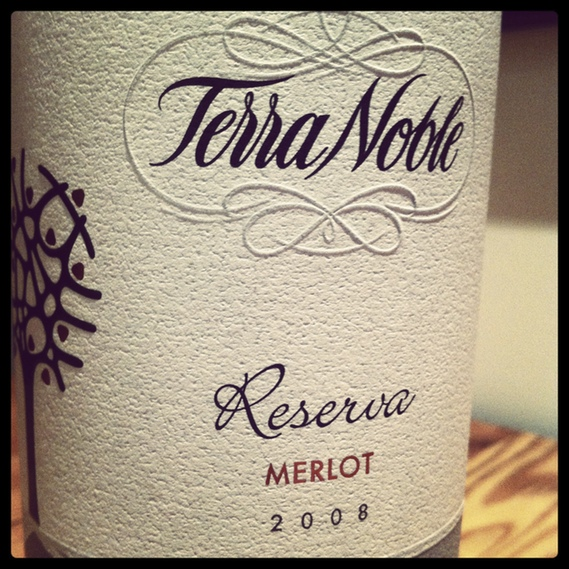 Terra Noble Reserva Merlot 2008