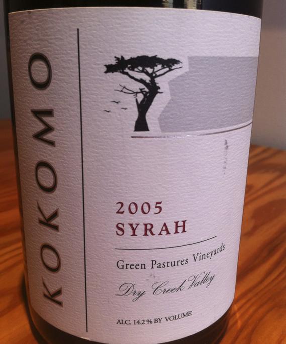 Kokomo 2005 Syrah