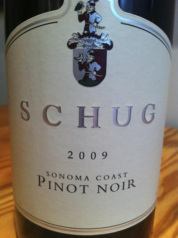 Schug 2009 Pinot Noir