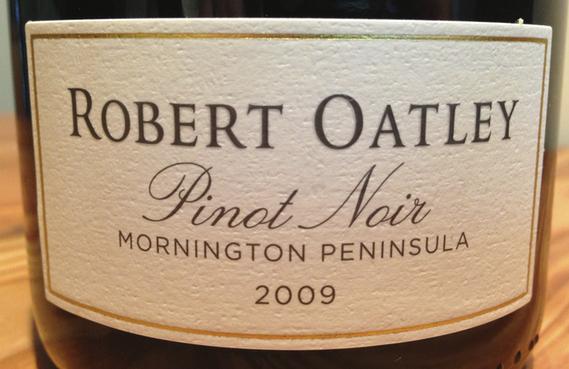 Robert Oatley Pinot Noir 2009