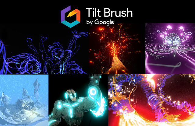 Ejemplos de Arte hecho con Tilt Brush