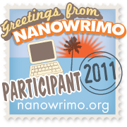 NaNoWriMo Paricipant Badge
