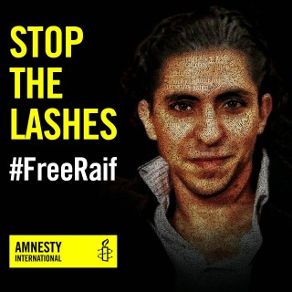 Stop the Lashes - Free Raif Badawi