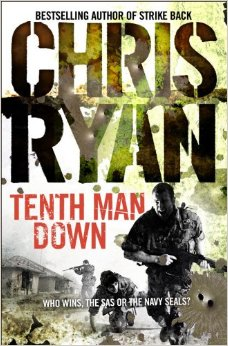 Tenth Man Down by Chris Ryan (book cover)
