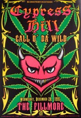 Cypress Hill poster by Chris Shaw