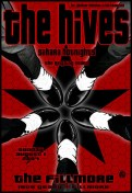 Hives poster by Chris Shaw