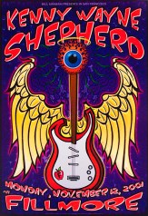 Kenny Wayne Shepherd poster by Chris Shaw