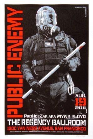 Public Enemy poster Chris Shaw