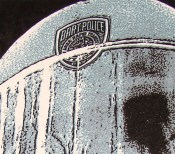 Public Enemy poster Chris Shaw helmet detail