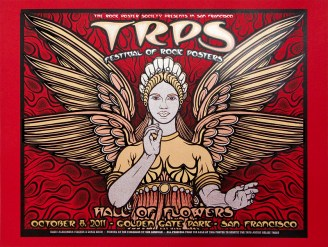 TRPS Festival of Rock Posters 2011 - Red Variant