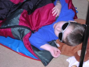 Too cool, even when sleeping