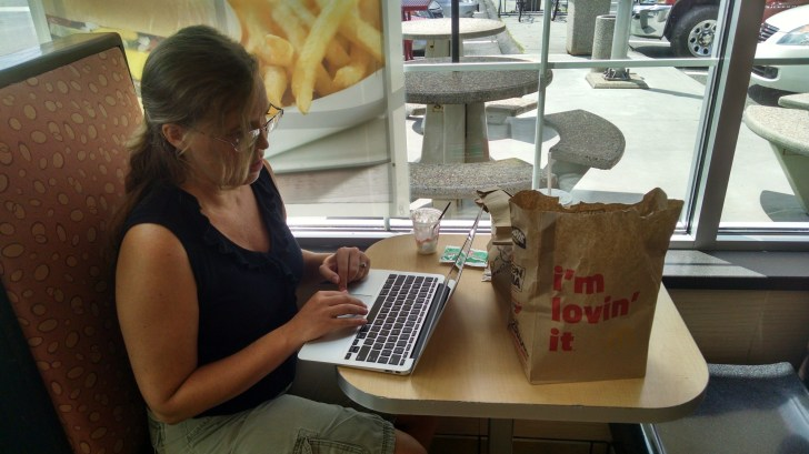 Traveling to Boston for the WordCamp. Working on the road.