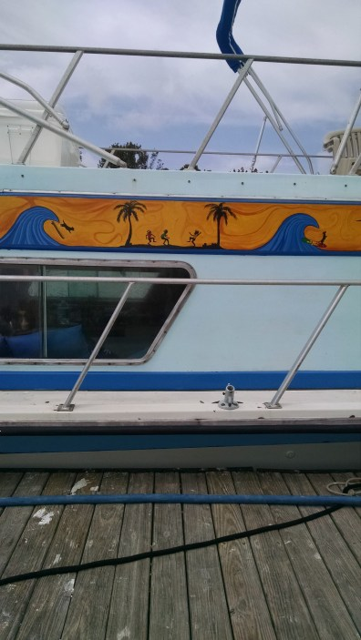 Art on Boat