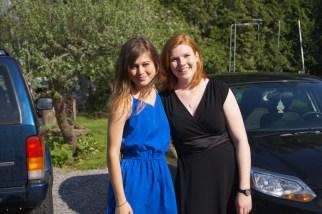 Lauren and Bri on graduation weekend