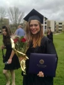 Bri is a graduate :)