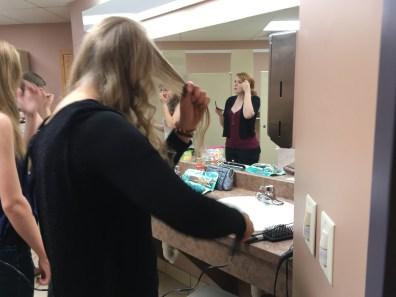Makeup time!