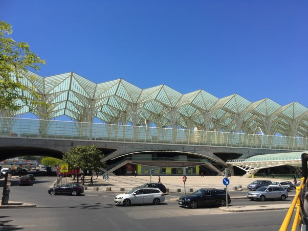 Great architecture in the modern section of town