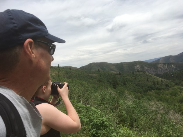 Chris and Lauren enjoying Nature